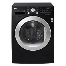 Buy LG FH2A8TDN8 Freestanding Washing Machine, 8kg Load, A+++ Energy Rating, 1200rpm Spin, Black Online at johnlewis.com