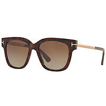 Buy TOM FORD FT0436 Tracy Polarised Gradient Sunglasses Online at johnlewis.com