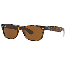Buy Ray-Ban RB2132 New Wayfarer Sunglasses Online at johnlewis.com