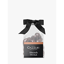 Buy Hotel Chocolat Caramelised Almonds In Dark Chocolate, 130g Online at johnlewis.com