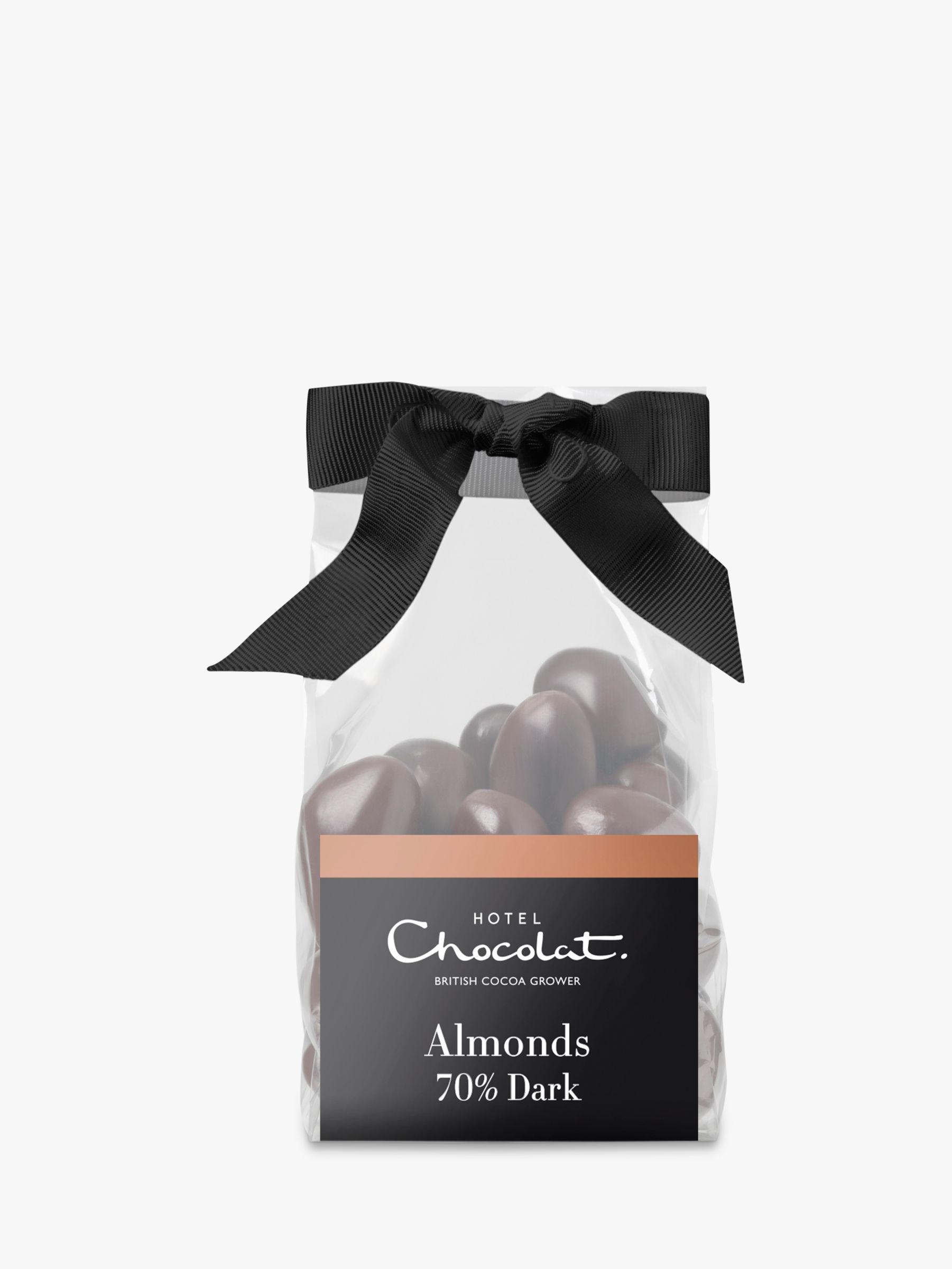 Hotel Chocolat Hotel Chocolat Caramelised Almonds In Dark Chocolate, 130g