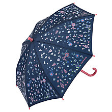 Buy Fat Face Children's Ditsy Print Umbrella, Light Navy/Multi Online at johnlewis.com