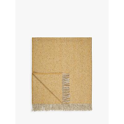 Avoca Heavy Herringbone Wool Throw
