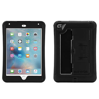 Image of Griffin Survivor Slim Tablet Case for iPad Mini 4, Black