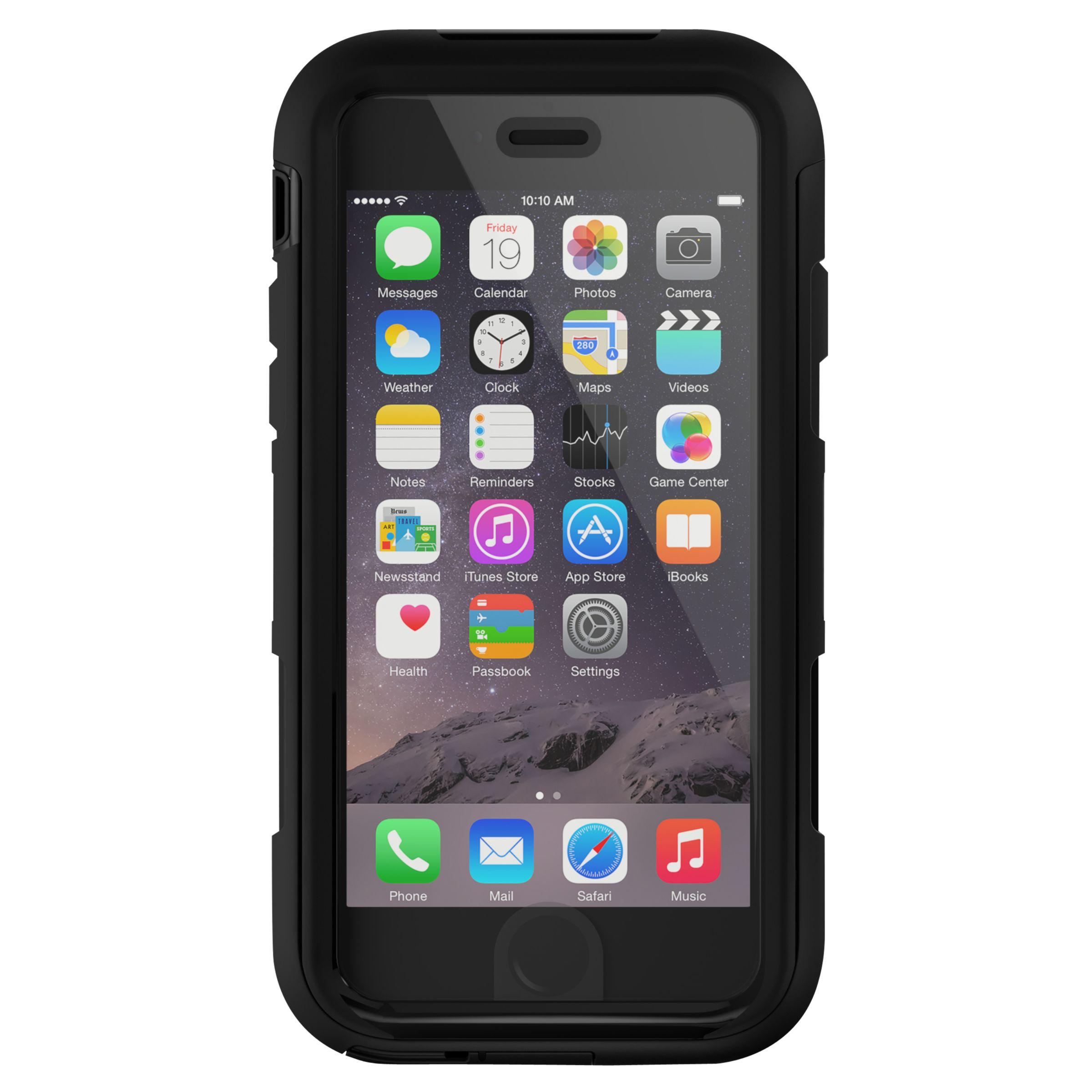 Griffin Griffin Survivor Summit Case for iPhone 6/6s, Black