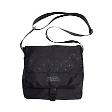 Buy Original Penguin Print Shoulder Bag, Black Online at johnlewis.com