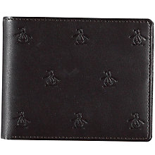 Buy Original Penguin Embossed Wallet, Chocolate Online at johnlewis.com