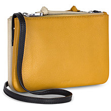 Buy Jaeger Leather Double Pouch Bag Online at johnlewis.com