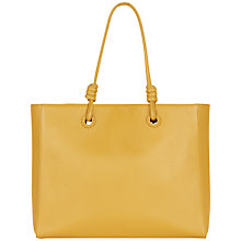 Buy Jaeger Leather Knot Large Tote Bag Online at johnlewis.com