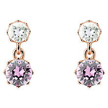 Buy Ted Baker Connolee Crystal Crown Short Drop Earrings Online at johnlewis.com