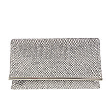 Buy Coast Blair Sparkle Bag, Silver Online at johnlewis.com