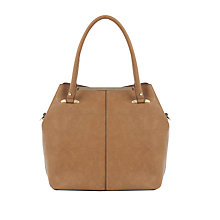 Buy Oasis Topsy Tote Bag, Tan Online at johnlewis.com