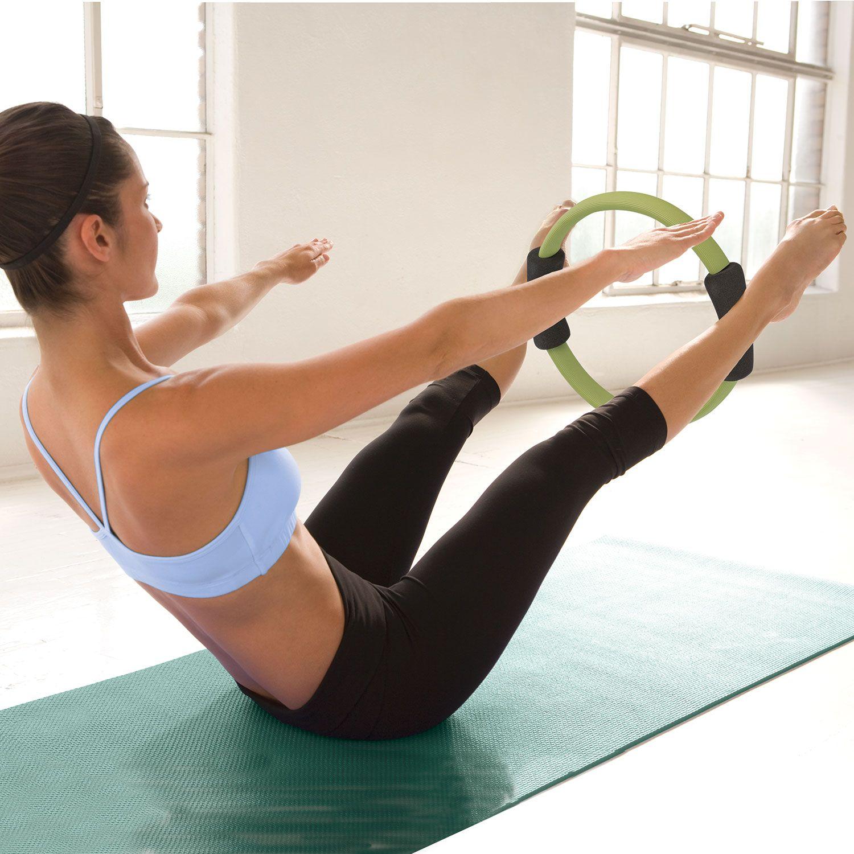 Gaiam Gaiam Pilates Toning Ring, Black/Green