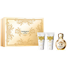 Buy Versace Eros Pour Femme 50ml Eau de Parfum Fragrance Gift Set Online at johnlewis.com