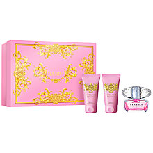 Buy Versace Bright Crystal 50ml Eau de Toilette Fragrance Gift Set Online at johnlewis.com