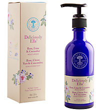 Buy Neal's Yard Remedies Deliciously Ella Rose, Lime & Cucumber Facial Moisturiser, 100ml Online at johnlewis.com