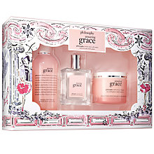 Buy Philosophy Amazing Grace Gift Set Online at johnlewis.com