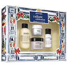Buy Philosophy Radiant Celebration Skincare Gift Set Online at johnlewis.com