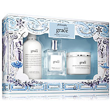 Buy Philosophy Pure Grace Gift Set Online at johnlewis.com