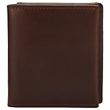Buy JOHN LEWIS & Co. Leather Coin Purse, Brown Online at johnlewis.com