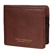Buy Scotch & Soda Leather Flip Open Wallet Online at johnlewis.com
