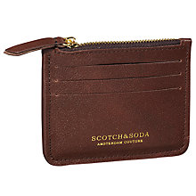 Buy Scotch & Soda Leather Card Holder Online at johnlewis.com