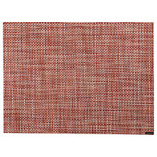 Buy Chilewich Basketweave Placemat, Terracotta Online at johnlewis.com