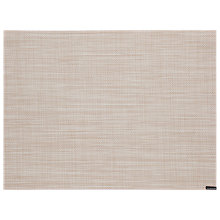 Buy Chilewich Mini Basketweave Parchment Placemat, Natural Online at johnlewis.com