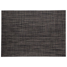 Buy Chilewich Basket Weave Carbon Placemat, Black Online at johnlewis.com