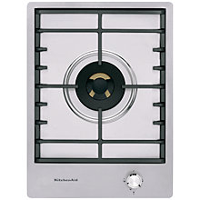 Buy KitchenAid KHDP1 Integrated Gas Hob, Inox Online at johnlewis.com