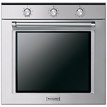 Buy KitchenAid KOGSS Built-In Single Oven, Stainless Steel Online at johnlewis.com