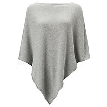 Buy Jigsaw Knitted Rolled Edge Poncho Online at johnlewis.com