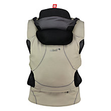 Buy Close Parent Caboo DX+ Go Baby Carrier, Khaki Online at johnlewis.com