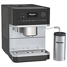 Buy Miele CM6310 Bean to Cup Coffee Machine, Black Online at johnlewis.com
