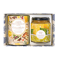 Buy Crabtree & Evelyn Citron Indulgence Gift Selection, 495g Online at johnlewis.com