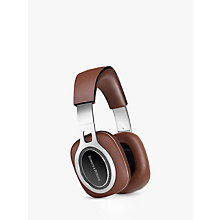 Buy Bowers & Wilkins P9 Signature Over-Ear Headphones, Brown Online at johnlewis.com