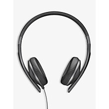 Buy Sennheiser HD 2.30G On-Ear Stereo Straight Jack Headphones, Black Online at johnlewis.com
