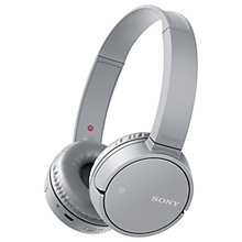 Buy Sony MDR-ZX220BT Bluetooth On-Ear Headphones with Mic/Remote Online at johnlewis.com
