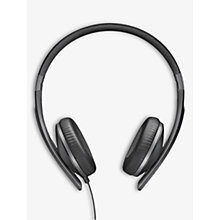 Buy Sennheiser HD 2.30G On-Ear Stereo L-Shape Jack Headphones, Black Online at johnlewis.com