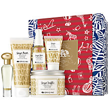Buy Origins Ginger Pleasures Skincare Gift Set Online at johnlewis.com