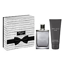 Buy Jimmy Choo MAN 50ml Eau de Toilette  Fragrance Gift Set Online at johnlewis.com