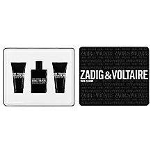 Buy Zadig & Voltaire This Is Him! 50ml Eau de Toilette Fragrance Gift Set Online at johnlewis.com