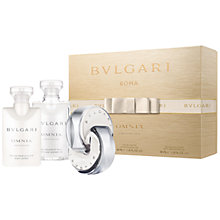 Buy Bulgari Omnia Crystalline 40ml Eau de Toilette Fragrance Gift Set Online at johnlewis.com