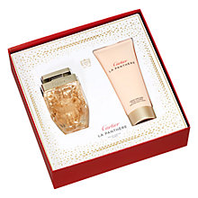 Buy Cartier La Panthère Légère 50ml Eau de Parfum Fragrance Gift Set Online at johnlewis.com