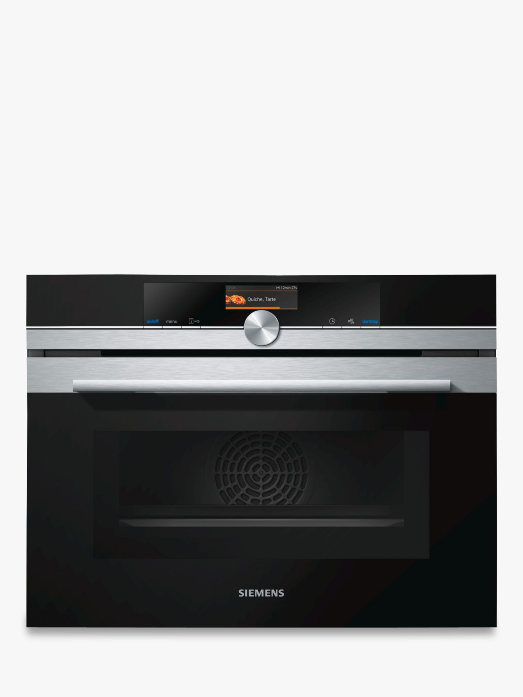 Siemens Siemens CM676GBS6B Built-in Microwave Oven with Home Connect, Stainless Steel