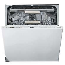 Buy Whirlpool WIO3O33DELUK Integrated Dishwasher Online at johnlewis.com