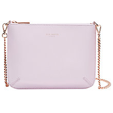 Buy Ted Baker Becklia Leather Across Body Bag Online at johnlewis.com