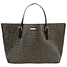 Buy Somerset by Alice Temperley Tarnock Stud Tote Bag, Black Online at johnlewis.com
