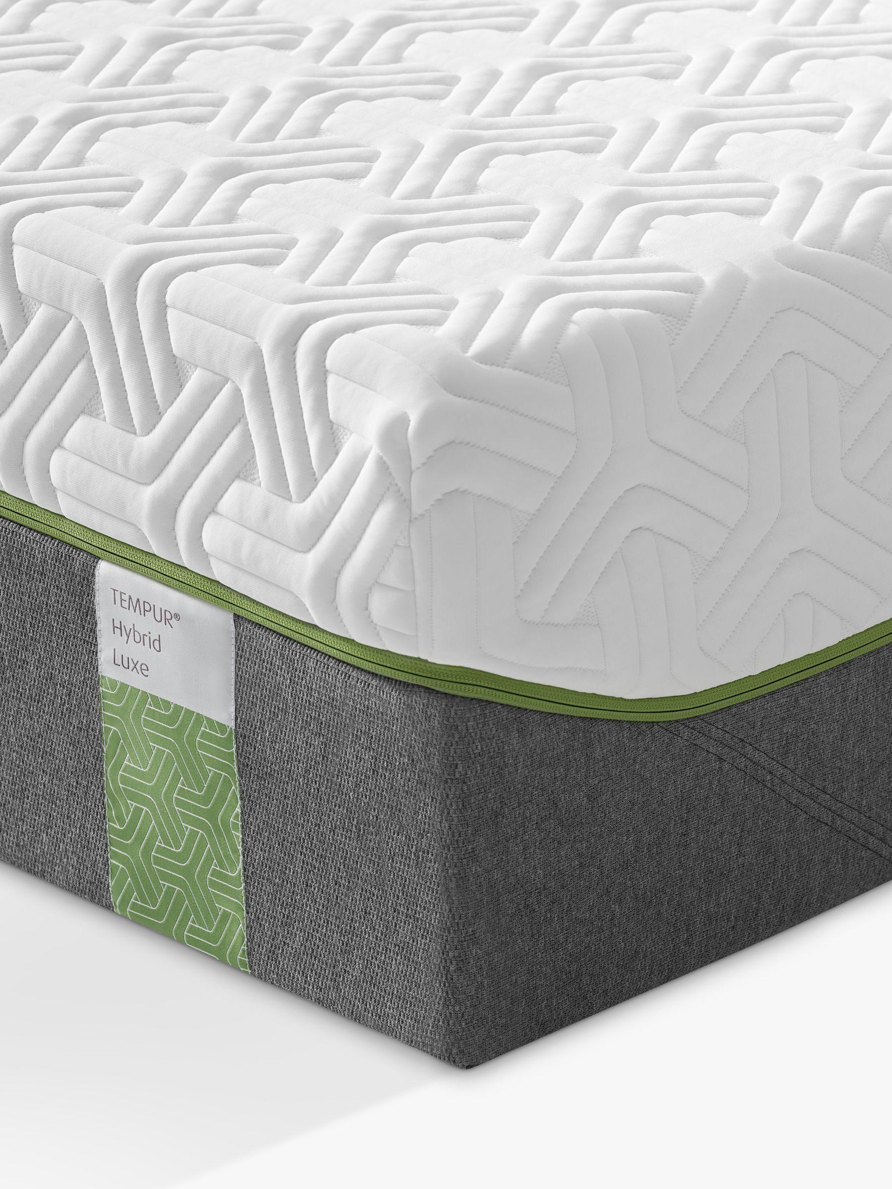 Tempur Tempur Hybrid Luxe Pocket Spring Memory Foam Mattress, Super King Size