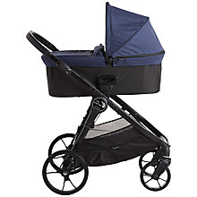 Buy Baby Jogger City Premier Deluxe Carrycot, Indigo Online at johnlewis.com